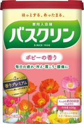 BATHCLIN Bath salt Poppy fragr...