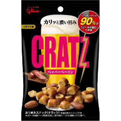 Glico CRATZ Pepper Bacon 42g