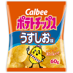 Calbee Potato Chips Salt Flavo...