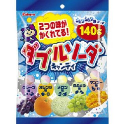 Kabaya Double Soda Candy 140g
