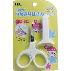 KAI Baby nail scissors with ca...