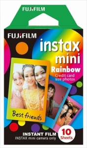 Fujifilm instax Rainbow Mini Film 10 Sheets